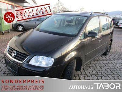 gebraucht VW Touran 1.9 TDI Klimaautomatik GRA el. FH RCD 300
