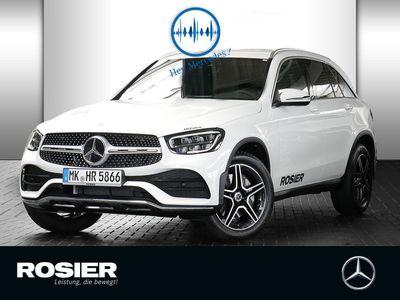 gebraucht Mercedes GLC220 d 4Matic AMG Line LED Navi Kamera Leder