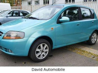 gebraucht Chevrolet Kalos 1.4 SX*Klima*5 Türig*8 fach bereift*