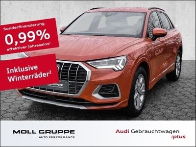 gebraucht Audi Q3 35 TDI advanced S tronic AHK ALU NAVI VIRTUAL LED