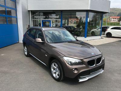 gebraucht BMW X1 BaureihexDrive 18d Anhängerkupplung Garantie