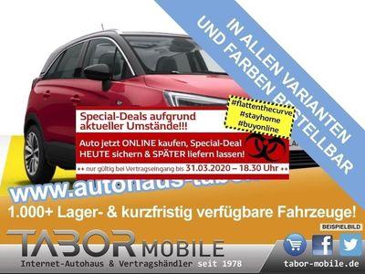 gebraucht Opel Crossland X 1.2 Turbo 130 Elite LED SichtP in Kehl
