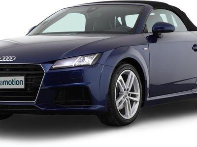 gebraucht Audi TT Roadster TT 2.0 TFSI quattro S tronic 2x S line/
