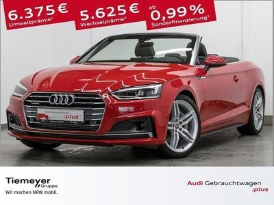 gebraucht Audi A5 Cabriolet 3.0 TDI Q S LINE LEDER LM19 VIRTUAL LED