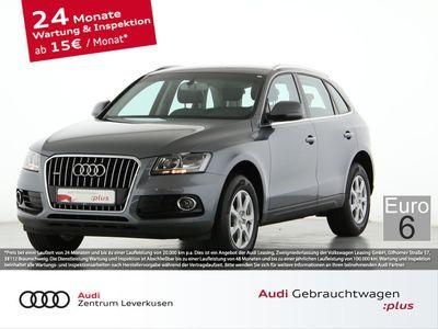 gebraucht Audi Q5 2.0 quattro S TRONIC LEDER NAVI AHK PDC EU