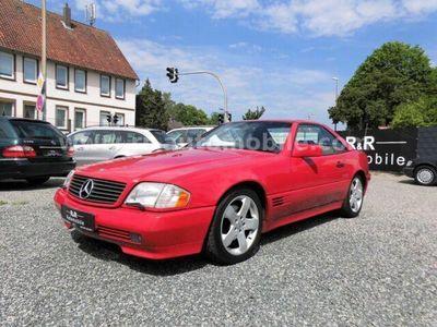 gebraucht Mercedes SL320 Hardtop Memory AHK SitzH Exclusiv Leder