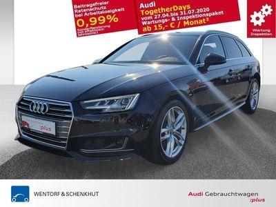 gebraucht Audi A4 Avant 2.0 TDI S tronic design S-line Matrix-LED MMI