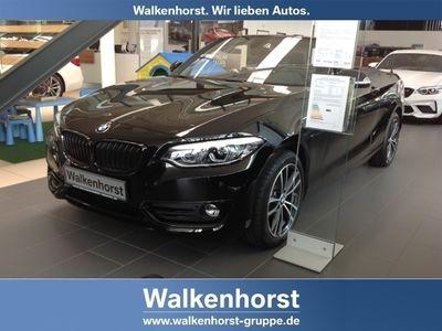 gebraucht BMW 220 i Sport Line Cabrio EU6d-T Leder LED Navi Keyless Kurvenlicht Fernlichtass. LED-hinten