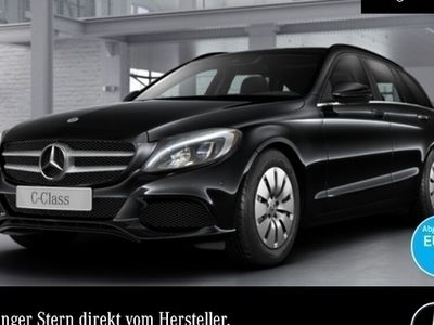 gebraucht Mercedes C200 d T COMAND LED Totwinkel PTS 9G Sitzh Temp