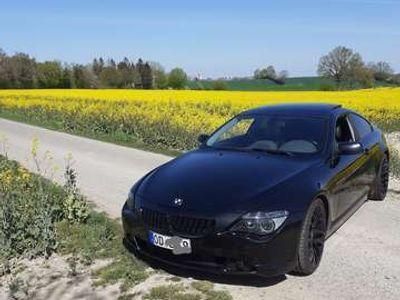 gebraucht BMW 645 Scheckheft gepflegt Service neu Schwarz