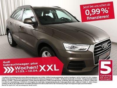 gebraucht Audi Q3 2.0TDi NAV+/AHK/SitzHzg. (Navi Xenon Leder)