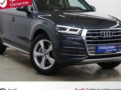gebraucht Audi Q5 2.0 TDI Quattro S-tronic LederAlcantara/LED/N