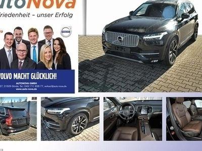 gebraucht Volvo XC90 T6 AWD Inscription 7-Sitze LED Standh. Navi