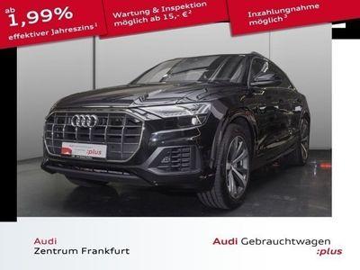 gebraucht Audi Q8 45 TDI quattro tiptronic Navi HUD AHK MatrixL B