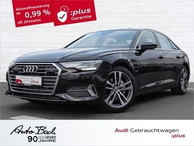 gebraucht Audi A6 Limousine Sport 45TDI qu. LED AHK EPH Navi Virtual
