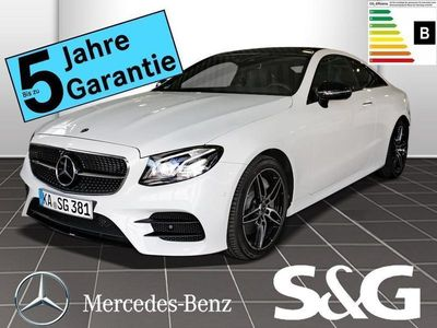 gebraucht Mercedes E300 Coupe AMG-Line NIGHT/COMAND/Multibeam/Pano