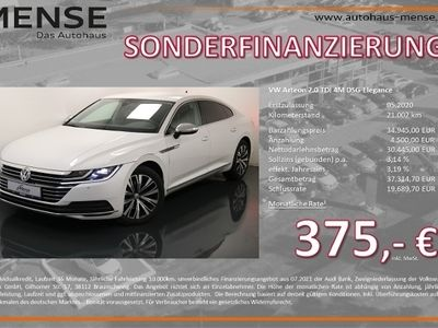 gebraucht VW Arteon 2.0 TDI 4M DSG Elegance Navi Sitzhzg DAB+