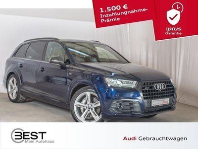 "gebraucht Audi Q7 50 TDI EU6 quattro S-Line, AHK, Navi+, HUD, LED, VIRTUAL, Shz, GRA, LM 21"""