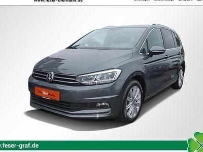 gebraucht VW Touran Highline 1.4 TSI DSG LED/Navi/Sitzheizung/7-Sitze