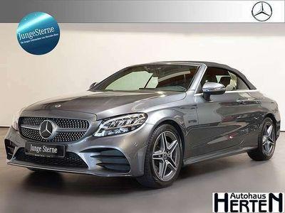 gebraucht Mercedes C200 C 200Cabrio AMG DISTRONIC Burmester Sitzklima
