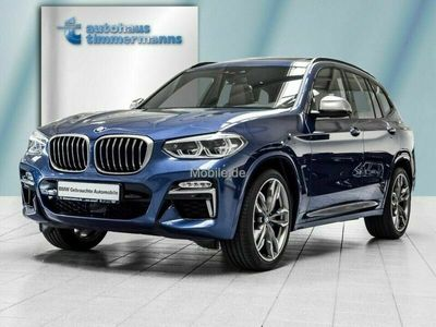 gebraucht BMW X3 X3 M40i AT Innovationsp. Navi Prof. Sport Aut.