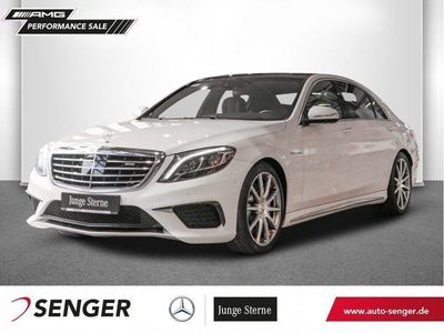 käytetty Mercedes S63 AMG AMG 4M Lang Panorama TV Standheizung 360°K.