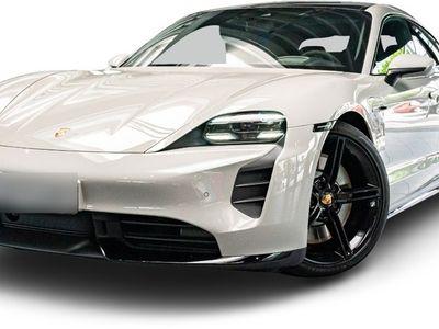 gebraucht Porsche Taycan Turbo Taycan| Sport Design Paket schwarz |