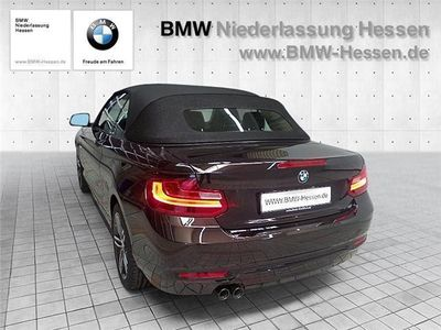 gebraucht BMW 220 d Cabrio Automatik PDC Klimaautomatik MFL Sitzheiz