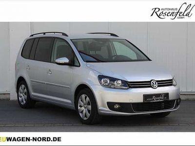 gebraucht VW Touran 1,6TDI DSG Comfortline+7. Sitzer+Klimaaut.+TOP!!!