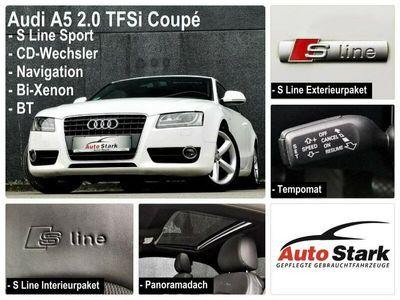 gebraucht Audi A5 2.0 TFSI°1.Hand°S-Line°Panorama°Xenon°PDC°Navi°BT°