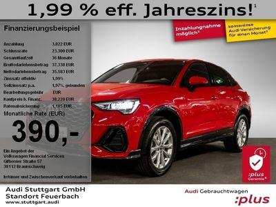 gebraucht Audi Q3 Sportback S line 35 TDI 110 kW (150 PS) S tronic
