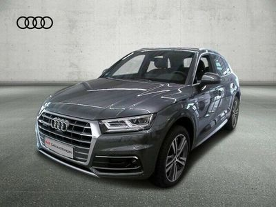 gebraucht Audi Q5 40 TDI quat. sport S-LINE+LED+AHK+NAVI+STANDH