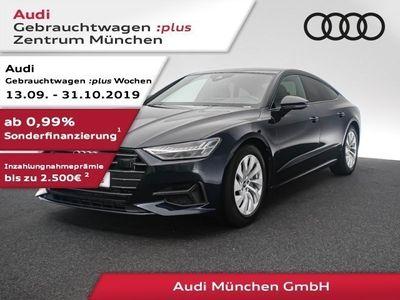 gebraucht Audi A7 Sportback 50 TDI qu. tiptr. Luftfed/Pano/Matrix/B&