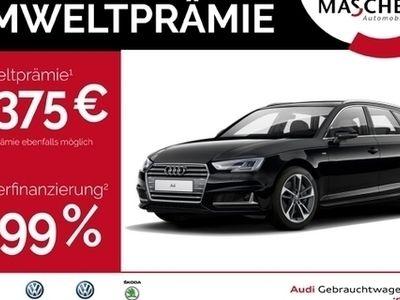gebraucht Audi A4 Avant S line 2.0 TFSI Leder HUD ACC virtualcp L