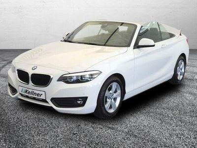 gebraucht BMW 218 i Cabrio Navi,Leder,Harman/Kardon,Keyless
