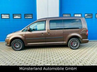 gebraucht VW Caddy Maxi AHK 8 Fach Klima Zahnriemen NEU als Van/Kleinbus in Greven