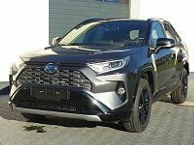 gebraucht Toyota RAV4 Black Edition 2,5 Hybrid CVT 2WD 160kW H3 2021