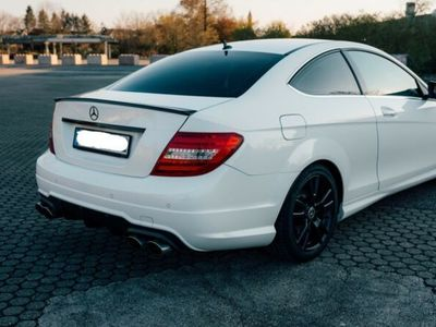 gebraucht Mercedes C180 Coupe Edition (AMG-LINE)