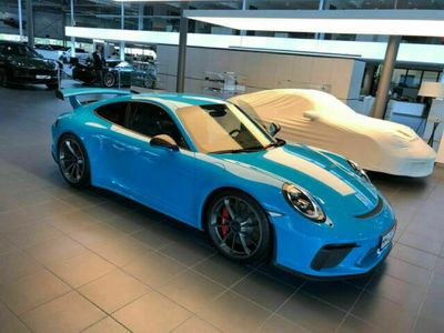 gebraucht Porsche 911 GT3 991.24.0 Miamiblau Clubsport 918 Schalensi