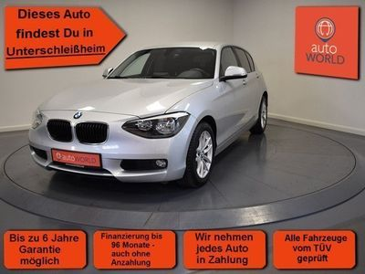 used BMW 118 i Sitzheizung BT-Freisprech. USB Euro 6