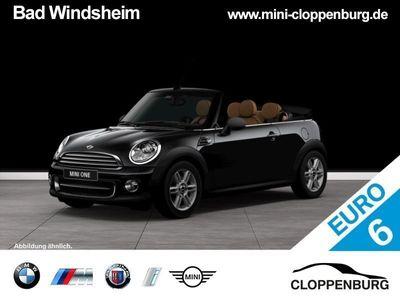 gebraucht Mini One Cabriolet Chili MALISM Xenon BT Klimaaut.