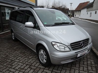 gebraucht Mercedes Viano 3.0 CDI lang Leder/Navi/Sthzg