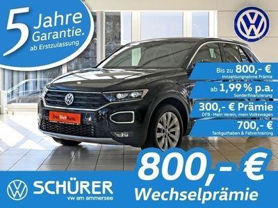 gebraucht VW T-Roc Sport 2.0TDI DSG 4MOT LED°Navi°Kamera°Lane-Assist