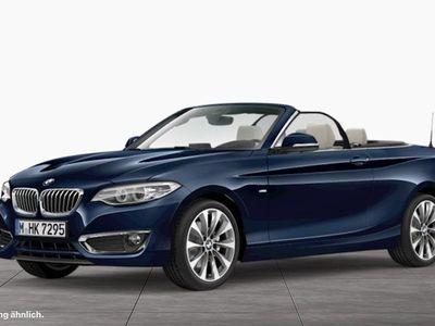 gebraucht BMW 220 d Cabrio Luxury Line HiFi Xenon RFK Tempomat