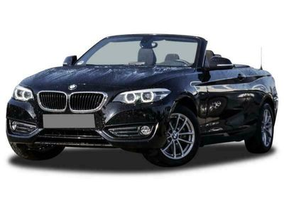 gebraucht BMW 220 i Cabrio Advantage HK HiFi DAB Navi Bus. USB -