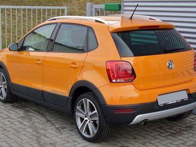 gebraucht VW Polo Cross 1.4 Polo SHZ SR/WR SH Magmaorange
