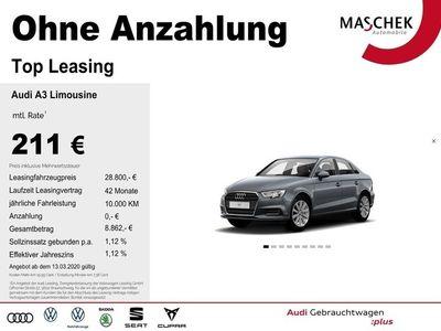 gebraucht Audi A3 Limousine Design 1.5 TFSI Stronic Navi PDC Si M