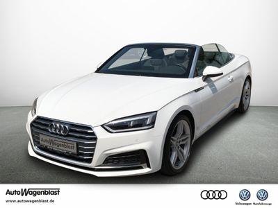 gebraucht Audi A5 Cabriolet Sport Cabrio 2.0 TFSI S-LINE LED+NAVI+SITZH.