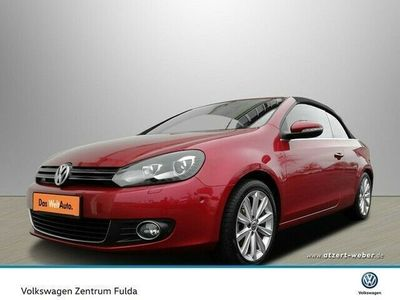 gebraucht VW Golf Cabriolet Navi Leder PDC SHZ Klima