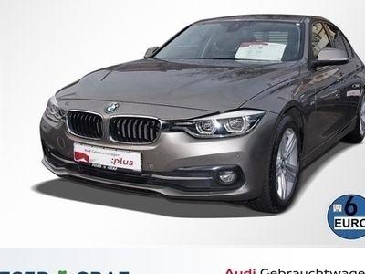 gebraucht BMW 320 d Limo Sport Line Steptronic Leder/LED/Navi/